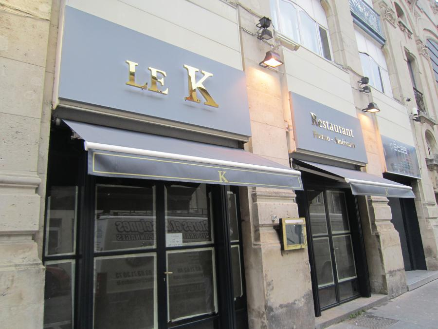 Restaurant Le K Nancy